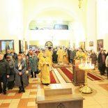 Божественная литургия в Неделю сыропустную