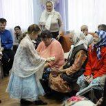 Рождественский концерт в Отделении круглосуточного пребывания в деревне Вишневка