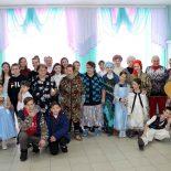 Праздничный концерт в Отделении круглосуточного пребывания для граждан пожилого возраста и инвалидов в деревне Вишневка