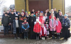Праздник «Веселая Масленица» состоялся в воскресной школе Крестовоздвиженского храма города Осиповичи