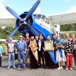 В небе над Бобруйском состоялся воздушный Крестный ход