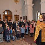 Тридцатилетие воскресной школы отметили в Георгиевском храме города Бобруйска