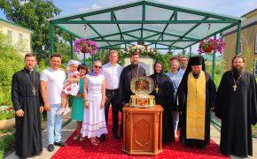 26 июля 2021 года ковчег с частицей мощей святого благоверного князя Александра Невского прибыл в Бобруйскую епархию