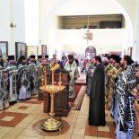 Соборная Божественная литургия и общая исповедь духовенства прошли в Бобруйской епархии