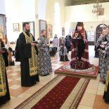 Епископ Серафим совершил утреню с чтением Великого канона преподобного Андрея Критского в кафедральном соборе г. Бобруйска