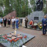 Молитва о погибших воинах прозвучала в мемориальном комплексе «Усакино»
