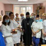 Руководитель отдела Взаимодействия с учреждениями здравоохранения поздравил работников мед. учреждений со Светлым праздником Пасхи
