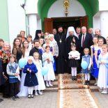 Митрополит Вениамин посетил Елисаветинский храм города Бобруйска