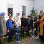 Начались занятия в приходской школе Покровского храма города Кировска