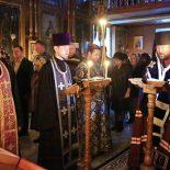 Епископ Серафим завершил чтение Великого покаянного канона в Николо-Софийском храме Бобруйска