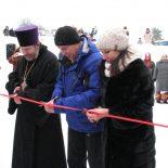 В праздник Богоявления настоятель Благовещенского храма г. Кличева принял участие в районном мероприятии