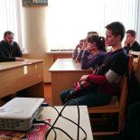Беседа с учащимися строительного колледжа города Бобруйска «Алкоголь вечное искушение»