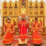 Божественная литургия в день престольного праздника Георгиевского храма г. Бобруйска