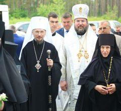 В праздник Вознесения Господня митрополит Вениамин совершил Божественную литургию в Борколабовском Вознесенском женском монастыре
