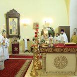 Епископ Серафим совершил Рождественскую Божественную литургию в Никольском кафедральном соборе