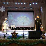 Священник поздравил юных артистов с Рождеством Христовым