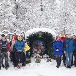 Рождественская встреча молодежи состоялась в храме в честь иконы Божией Матери «Целительница»