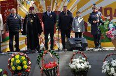 В Кличеве священник принял участие в торжествах, посвященных 76 годовщине Дня Победы
