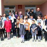 Воспитанники воскресной школы посетили Отделение круглосуточного пребывания для граждан пожилого возраста и инвалидов в деревне Вишневка