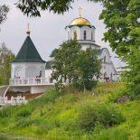 В день праздника Вознесения Господня епископ Серафим совершил Божественную литургию в Вознесенском женском монастыре