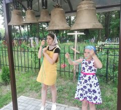 В селе Вороновичи состоялось освящение колоколов