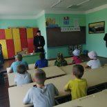 Состоялась встреча священника с воспитанниками летнего школьного лагеря