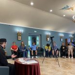 В храме Покрова Пресвятой Богородицы г. Бобруйска состоялась встреча школьников со священником