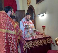 В неделю вторую по Пасхе епископ Серафим совершил Божественную литургию в Никольском кафедральном соборе