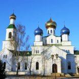 В Неделю 2-ю Великого поста епископ Серафим совершил Божественную литургию в Никольском соборе Бобруйска