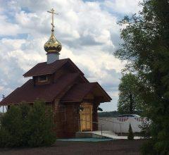 В деревне Весново Глусского района епископ Серафим совершил освящение нового храма в честь святителя Патрикия Ирландского