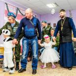 Представители Социального отдела Бобруйской епархии посетили праздничный утренник в приюте аг. Михалево