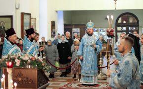 В канун Рождества Пресвятой Богородицы епископ Серафим совершил всенощное бдение в Никольском кафедральном соборе